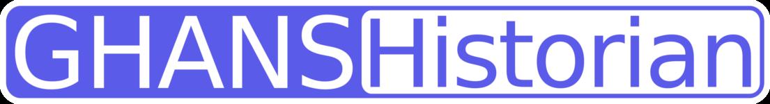 GHANSHistorian Icon Logo