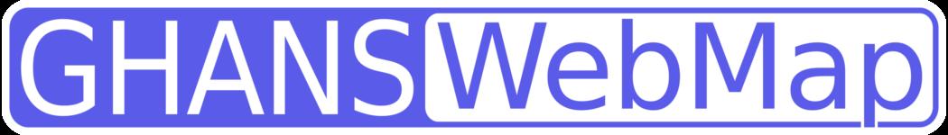 GHANS WebMap Icon Logo